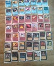 Magic MTG Unlimited lot 89 cards detail 3
