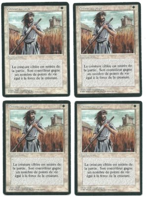4x FBB Swords to Plowshares (French) front