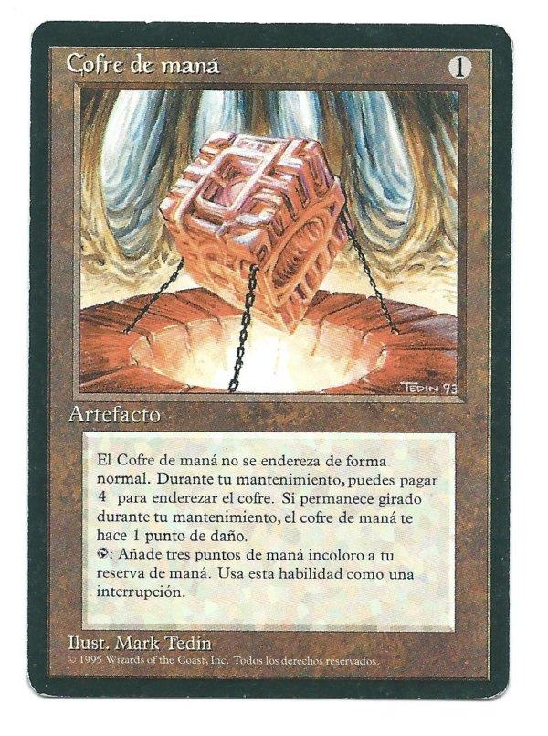 FBB Mana Vault (Spanish) front