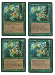 Magic MTG 4x FBB Erhnam Djinn Italian front