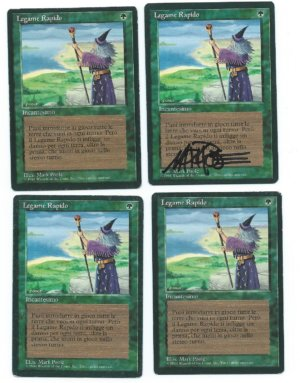 Magic MTG 4x Fastbond FBB Italian front