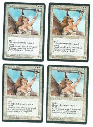 Magic MTG FBB Serra Angel Front