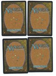 Magic MTG 4x Llanowar Elves foil FNM back