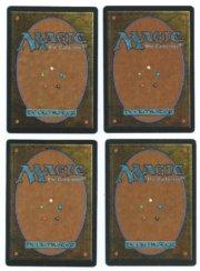 Magic MTG Arabian Nights 4x Flying Men back