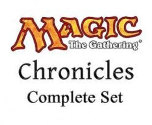 Magic MTG Chronicles complete English setjpg