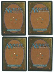 Magic MTG 4x FBB Mishra's Factory German back