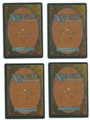 Magic MTG 4x FBB Serendib Efreet German + French back