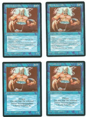 Magic MTG 4x FBB Serendib Efreet German + French front