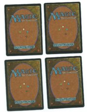 Magic MTG 4x FBB Serendib Efreet back