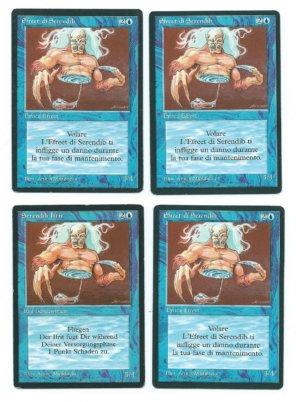 Magic MTG 4x FBB Serendib Efreet front