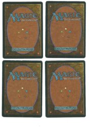 Magic MTG 4x Mishra's Factory FBB German Renaissance back