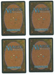 Magic MTG 4x Mishra's Factory FBB German back