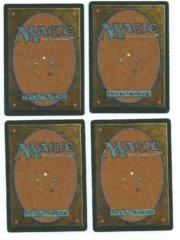 Magic MTG 4x FBB Dark Ritual French back