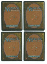 Magic MTG 4x FBB Dark Ritual Spanish back