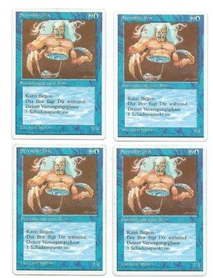 Magic MTG 4x FBB GERMAN Serendib Efreet front