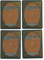 Magic MTG 4x FBB Llanowar Elves French back