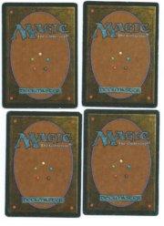Magic MTG 4x FBB Llanowar Elves Spanish back