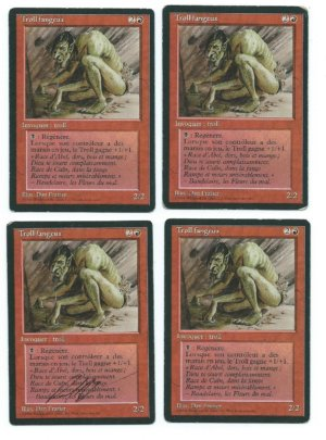 Magic MTG FBB 4x Sedge Troll French front