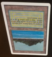 Magic MTG Unlimited Tropical Island Front 3