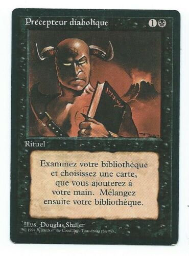 Demonic Tutor French front