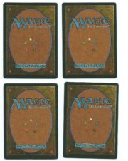 Magic MTG 4x Llanowar elves FBB German back