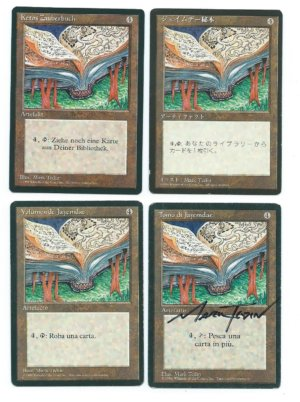 Magic MTG FBB 4x Jayemdae Tome front