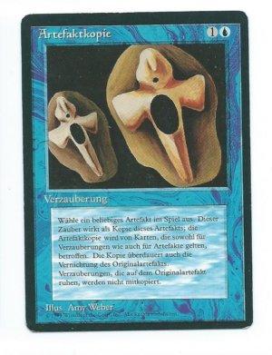 Magic MTG FBB Copy Artifact German front