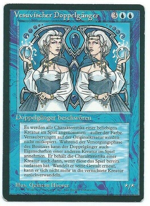 Magic MTG FBB Vesuvan Doppelganger german front