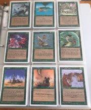 Magic MTG complete set 4th edition 2