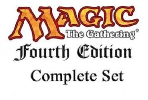 Magic MTG complete set 4th edition