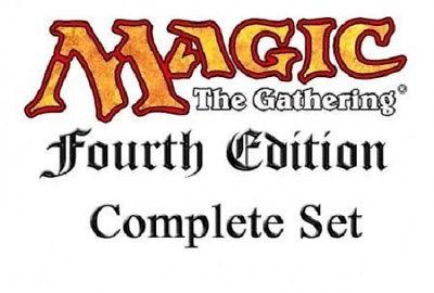 Magic MTG complete set 4th edition