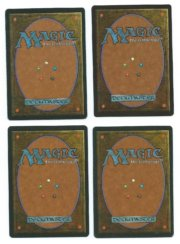 Magic MTG 4x Mind Twist FBB Playset back