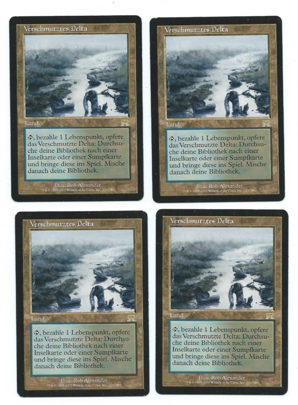 Magic MTG FBB Polluted Delta front