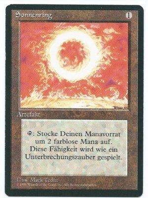 Magic MTG FBB Sol Ring German front
