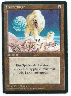 Magic MTG FBB Winter Orb German front 2