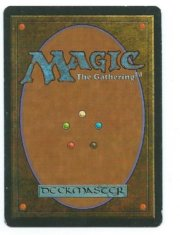 Magic MTG Misprint Serra Angel FBB Spanish Time Elemental back