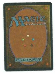 Magic MTG Misprint Serra Angel - Time Elemental Spanish back
