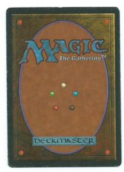 Magic MTG Wheel of Fortune FBB German back