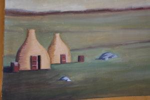 Original MTG Artworks Onslaught Plains