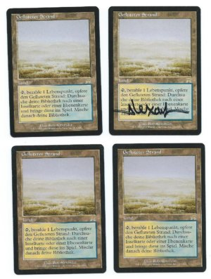 Magic MTG FBB 4x Flooded Strand German front