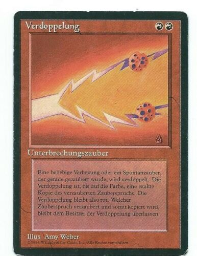 Magic MTG Fork FBB German front