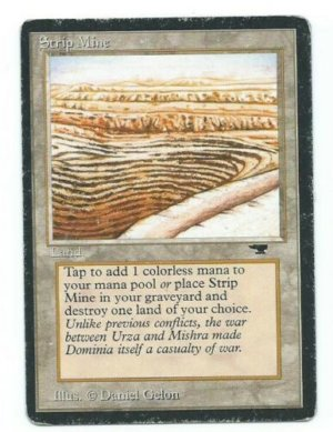 Strip Mine Antiquities Uneven front