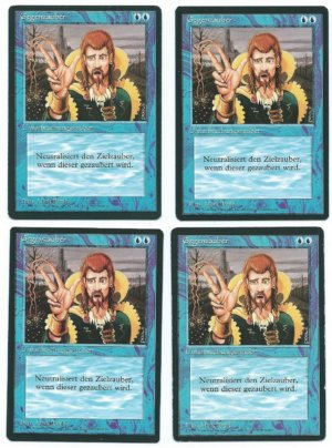 Magic MTG 4x FBB Counterspell German front