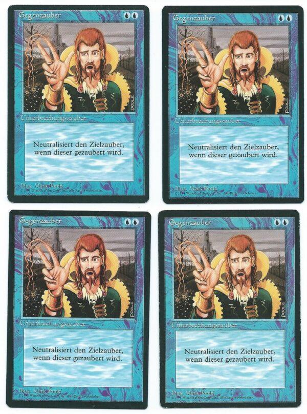 Magic MTG 4x FBB Counterspell German front