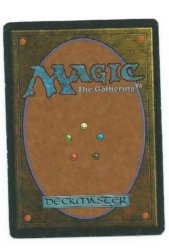 Magic MTG FBB Nevinyrral's Disk German first edition back