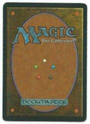 Magic MTG Misprint Time Elemental back