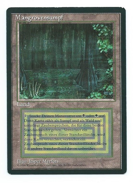 Magic MTG FBB Bayou German front