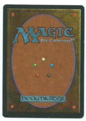 Magic MTG FBB Braingeyser German back #2