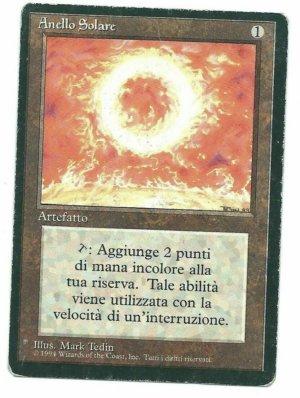 Magic MTG FBB Sol Ring Italian front
