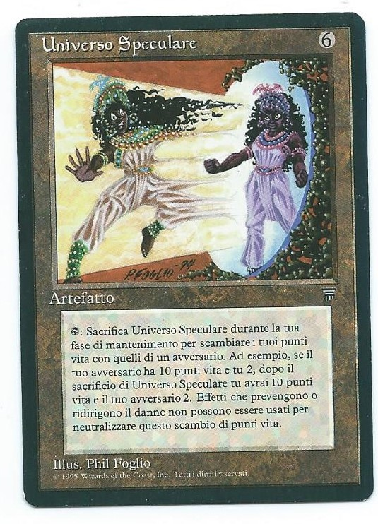 Magic MTG FBB Mirror Univers Italian front